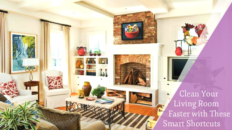 beautifully designed and decorated living room