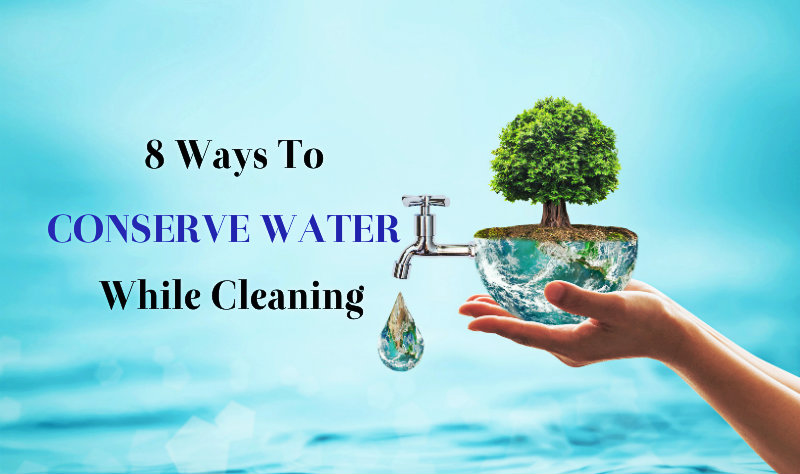tips for conservation of water