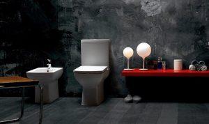 luxury and stylish washroom